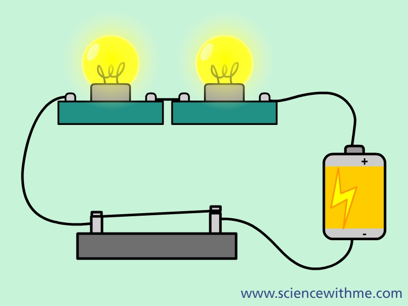 learn about electricity rh sciencewithme com Series Circuit Diagram Circuit Symbols