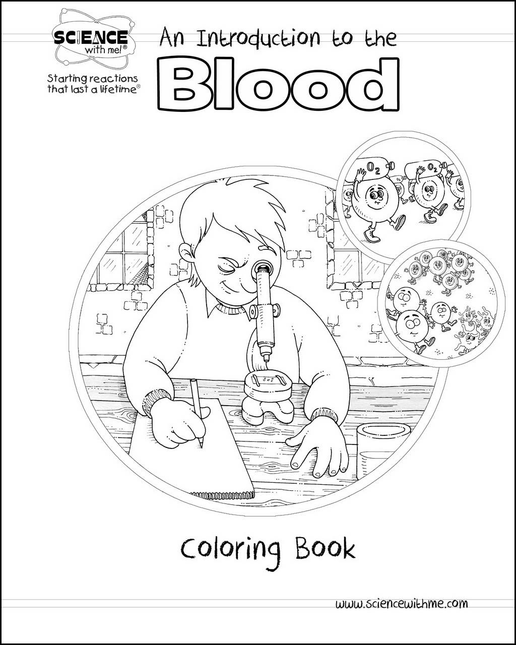 Blood Coloring Book