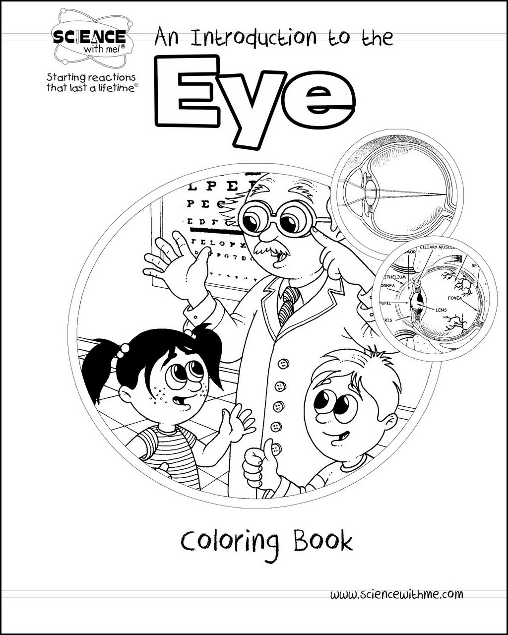 Eye Coloring Book