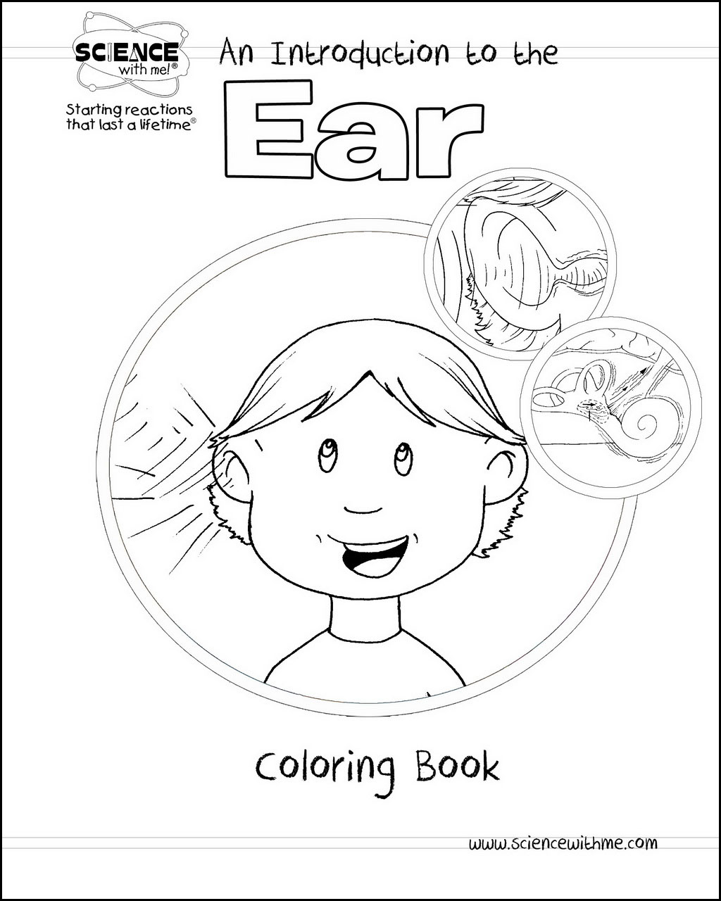 Ear Coloring Book