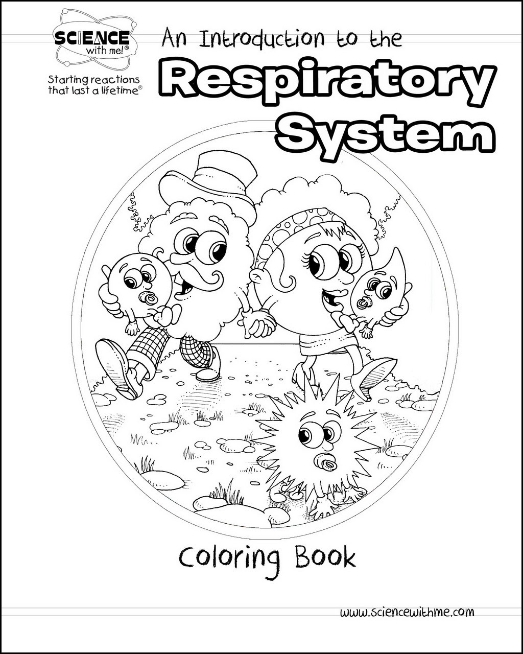 Respiratory System Coloring Book