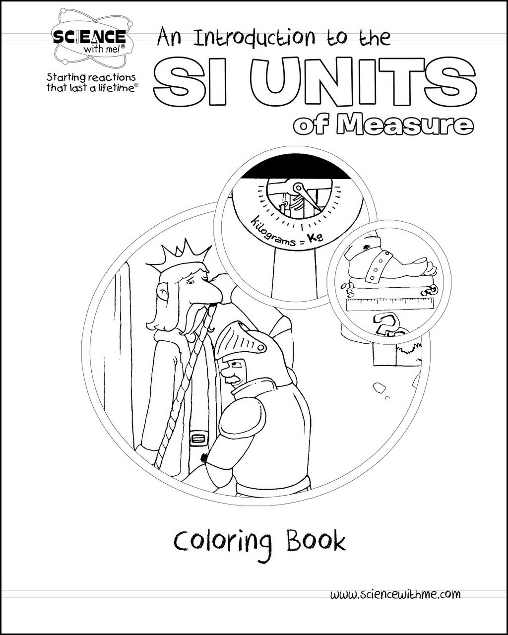 SI Units Coloring Book