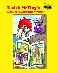 Tavish McTiny's Alphabetical Anatomical Adventure E-Book