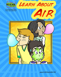 Learn About Air Comic Book