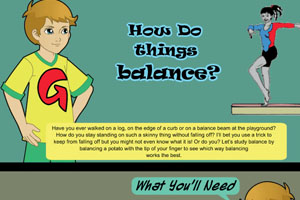 Science Experiment For Kids: How Do Things Balance?