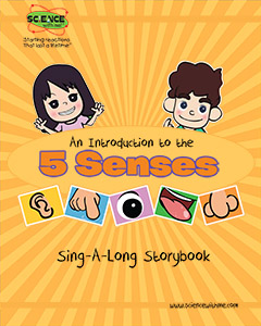 An Introduction to the Five Senses Storybook