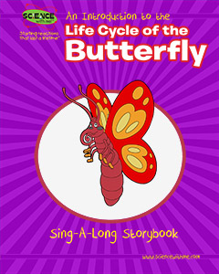 An Introduction to the Life Cycle Of the Butterfly Storybook